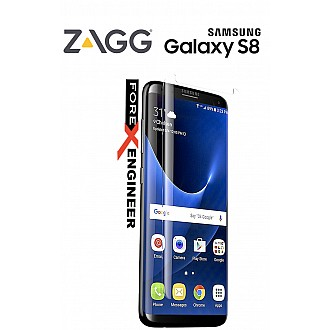 ZAGG Invisible Glass Curve for Samsung Galaxy S8 tempered Glass specially built for curved screen - transparent