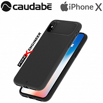 Caudabe the Sheath for iPhone X Premium Ultra Thin Case - Black