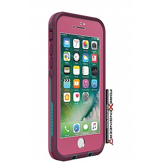 Lifeproof Fre Waterproof, Shock-proof, Dirt-proof Case for iPhone 7 - TWILIGHTS EDGE PINK (Pink) (clearance - no warranty)