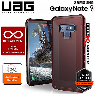 UAG Plyo for Samsung Galaxy Note 9 - Feather-Light Rugged Military Drop Tested Phone Case - Crimson Color