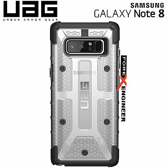 UAG Plasma for Samsung Note 8 - Feather-Light Rugged Military Drop Tested - Ice color