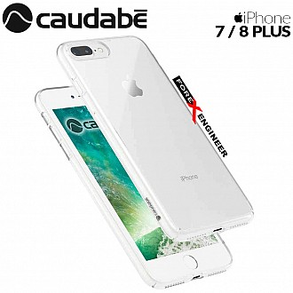 Caudabe Lucid Clear for iPhone 7 / 8 Plus - Crystal