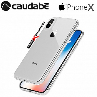 Caudabe Lucid Clear for iPhone X / Xs - Crystal