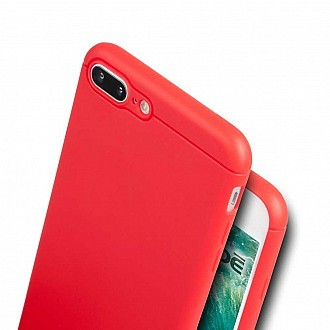 Caudabe the Sheath for iphone 7 / 8 PLUS Premium Ultra Thin Case - Red