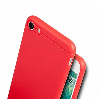 Caudabe the Sheath for iphone 7 / 8 Premium Ultra Thin Case - Red