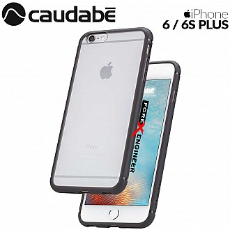 Caudabe The Synthesis for iPhone 6 / 6S PLUS Premium Ultra Thin with Protection Case - Black