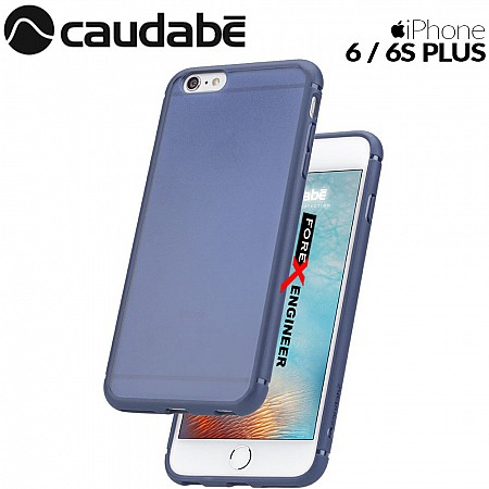 Caudabe The Synthesis for iPhone 6 / 6S PLUS Premium Ultra Thin with Protection Case - Blue