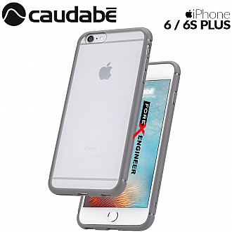 Caudabe The Synthesis for iPhone 6 / 6S PLUS Premium Ultra Thin with Protection Case - Gray