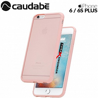 Caudabe The Synthesis for iPhone 6 / 6S PLUS Premium Ultra Thin with Protection Case - PINK