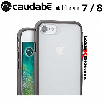 Caudabe The Synthesis for iPhone 7 / 8 Premium Ultra Thin with Protection Case - Gray