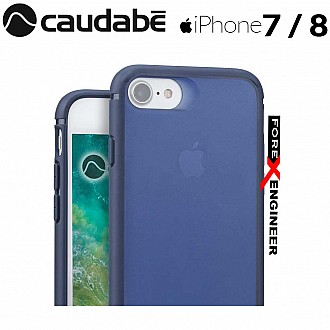 Caudabe The Synthesis for iPhone 7 / 8 Premium Ultra Thin with Protection Case - Navy