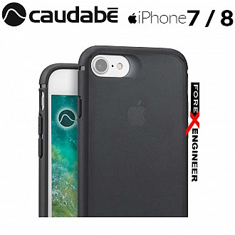 Caudabe The Synthesis for iPhone 7 / 8 Premium Ultra Thin with Protection Case - Stealth Black