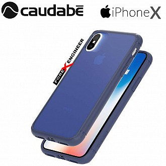 Caudabe The Synthesis for iPhone X Premium Ultra Thin with Protection Case - Navy color