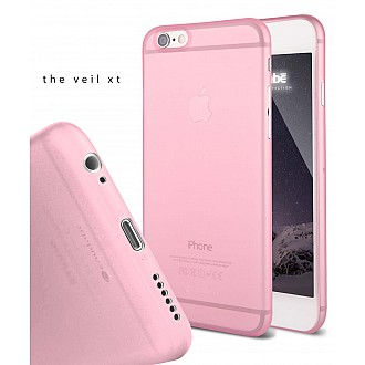Caudabe the Veil XT for iPhone 6S Premium Ultra Thin Case - Pink color