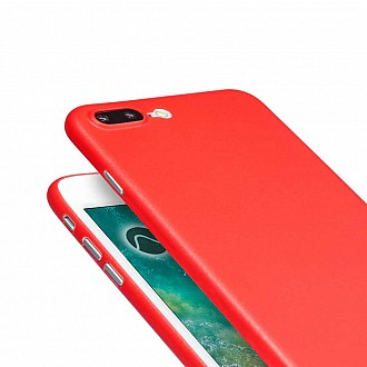 Caudabe the Veil XT for iphone 7 / 8 PLUS Premium Ultra Thin Case - Red