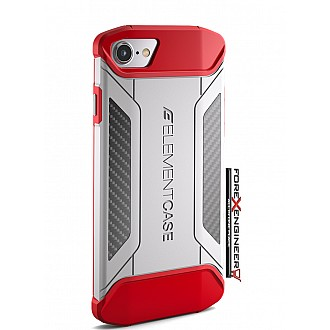 Element Case CFX for iphone 7 - red color (Compatible with iPhone SE 2nd Gen 2020)