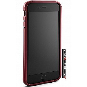 Element Case Aura for iphone 7 Plus - Deep Red color (Compatible with iPhone SE 2nd Gen 2020)