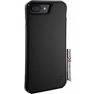 Element Case Solace LX Premium Leather, Protective, Cell Phone Case for iPhone 7 Plus - Black