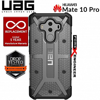 UAG Plasma for Huawei Mate 10 Pro - Feather-Light Rugged Military Drop Tested - Ice color