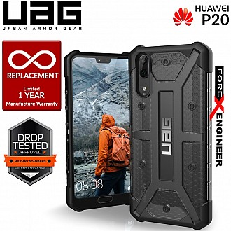 UAG Plasma for Huawei P20 - Feather-Light Rugged Military Drop Tested - Ash color