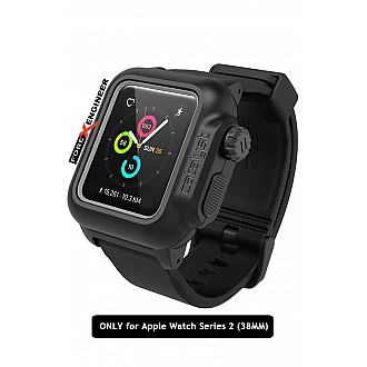 Catalyst Water Proof Shock Resistant Case for Apple Watch 38mm Series 2 (Stealth Black)
