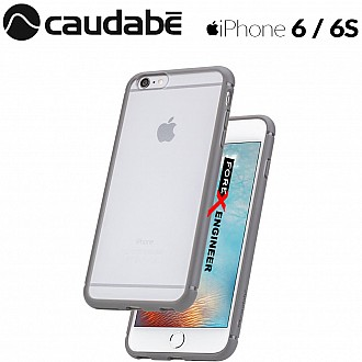 Caudabe The Synthesis for iPhone 6 / 6S Premium Ultra Thin with Protection Case - Gray