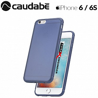 Caudabe The Synthesis for iPhone 6 / 6S Premium Ultra Thin with Protection Case - Blue