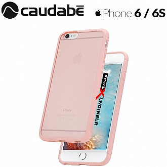 Caudabe The Synthesis for iPhone 6 / 6S Premium Ultra Thin with Protection Case - Pink