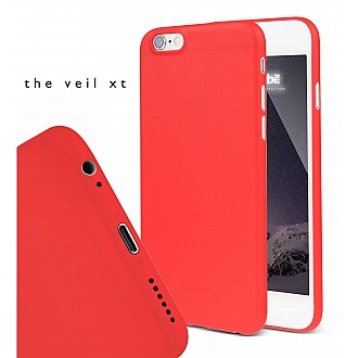 Caudabe the Veil XT for iPhone 6S Premium Ultra Thin Case - Red color
