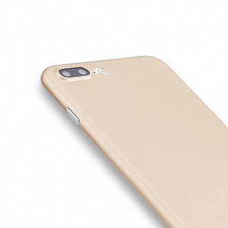Caudabe the Veil XT for iphone 7 PLUS Premium Ultra Thin Case - Gold Metallic