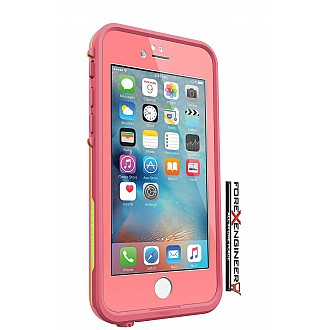 Lifeproof Fre Waterproof, Shock-proof, Dirt-proof Case for iPhone 6/6S - sunset pink color