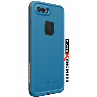 Lifeproof Fre Waterproof, Shock-proof, Dirt-proof Case for iPhone 7 / 8 Plus - BASE CAMP BLUE (Blue)
