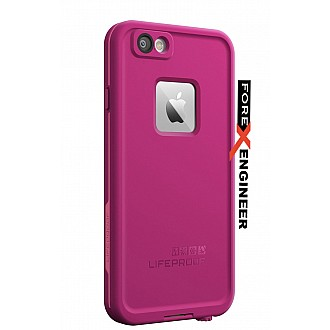 Lifeproof Fre Waterproof, Shock-proof, Dirt-proof Case for iPhone 6 ONLY - Power Pink color
