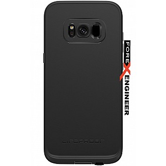Lifeproof fre Series waterproof case for Samsung Galaxy S8 PLUS / S8+ (ONLY) - Asphalt Black (CLEARANCE - NO WARRANTY)