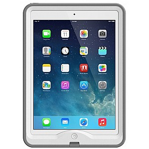 Lifeproof Nuud Waterproof, Shock-proof, Dirt-proof Case for iPad Air - Avalache White (CLEARANCE - NO WARRANTY)