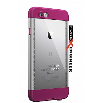 Lifeproof nuud for iphone 6 ONLY - Pink Pursuit (White/Pink)