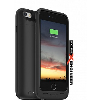 Mophie juice pack air - Slim Protective Mobile Battery Pack (2750mah) Case for iPhone 6/6s - Black color