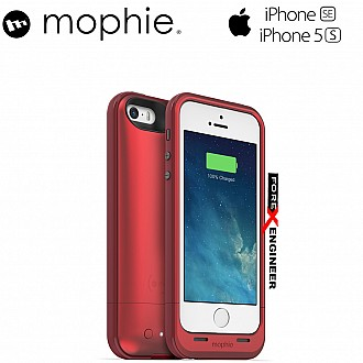 Mophie Juice Pack Plus 2100mah for iphone 5 / 5s / SE - Red Special Edition