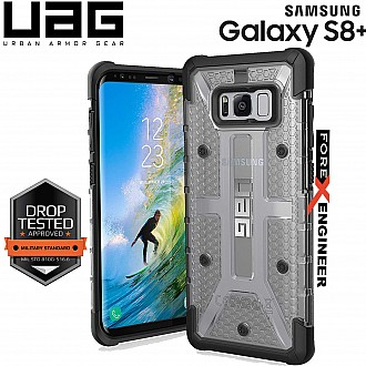 UAG Plasma for Samsung Galaxy S8 Plus - Feather-Light Rugged Military Drop Tested - Ice color