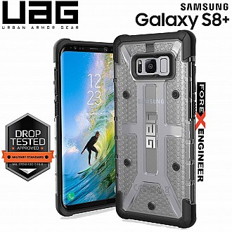 UAG Plasma for Samsung Galaxy S8 Plus - Feather-Light Rugged Military Drop Tested - Ash Color