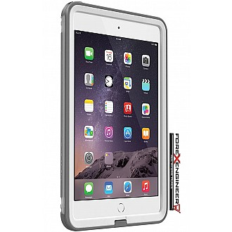 Lifeproof Fre Waterproof, Shock-proof, Dirt-proof Case for iPad mini 3/2/1 - avalanche white color (CLEARANCE - NO WARRANTY)