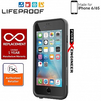 Lifeproof Fre Waterproof, Shock-proof, Dirt-proof Case for iPhone 6/6S - color black color