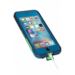 Lifeproof Fre Waterproof, Shock-proof, Dirt-proof Case for iPhone 6/6S - banzai blue color