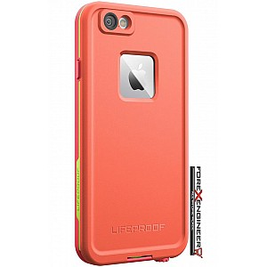 Lifeproof Fre Waterproof, Shock-proof, Dirt-proof Case for iPhone 6s plus / 6 plus - Sunset Pink