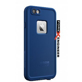 Lifeproof Fre Waterproof, Shock-proof, Dirt-proof Case for iPhone 6 ONLY - Soaring Blue color