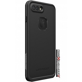 Lifeproof Fre Waterproof, Shock-proof, Dirt-proof Case for iPhone 7 Plus - Asphalt Black (Black)