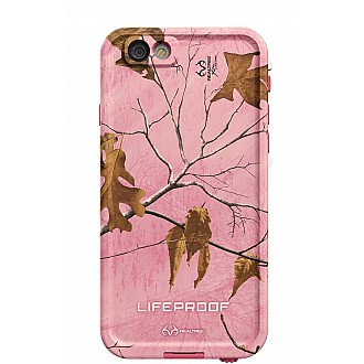 Lifeproof Fre RealTree Camo Waterproof, Shock-proof, Dirt-proof Case for iPhone 5/5S/SE - RealTree Pink