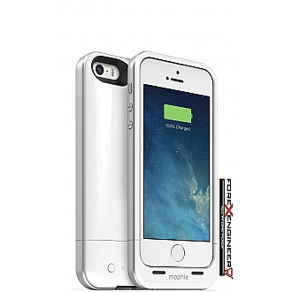 [FLASH SALE] Mophie Juice Pack Air for iphone 5 / 5s / SE (1700mah) - White - limited unit!