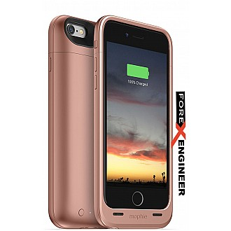 Mophie juice pack air - Slim Protective Mobile Battery Pack (2750mah) Case for iPhone 6/6s - Rose Gold
