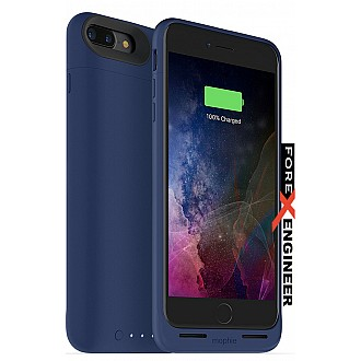 Mophie Juice Pack air for iphone 7 / 8 plus - blue color (wireless charge capable)